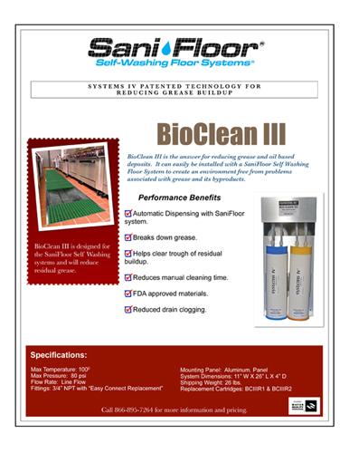 New Thumb Bioclean Spec