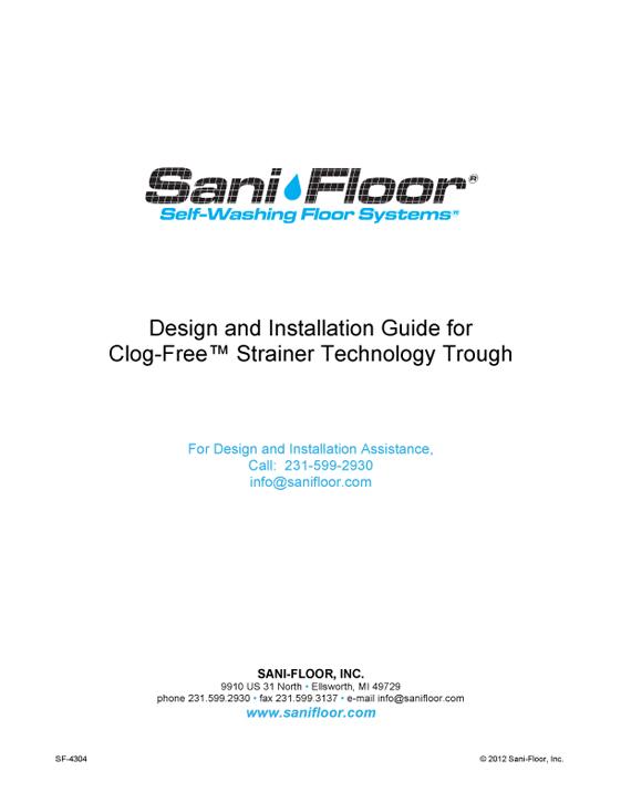 clog-free-install-manual-sf-4304
