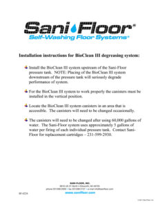 Installation-Instructions-for-Bioclean-iii-sf-42242